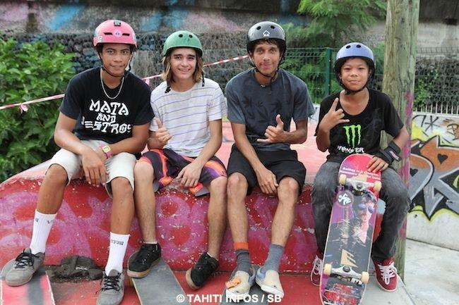 Skate – Une compétition pour le fun : C'est Irvin Yazot, le plus jeune, qui s'impose.
