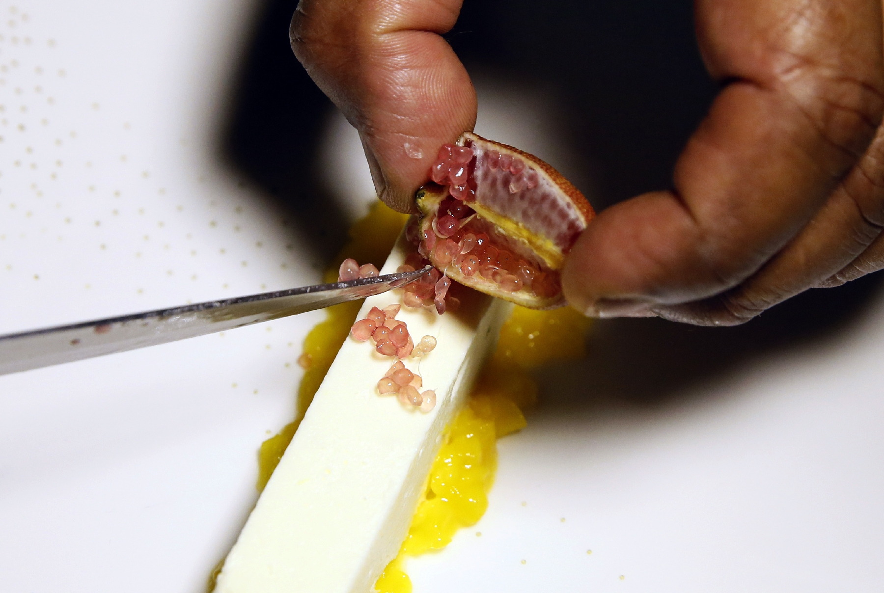 Citron caviar: fruit indigène d'Australie sur les grandes tables du monde
