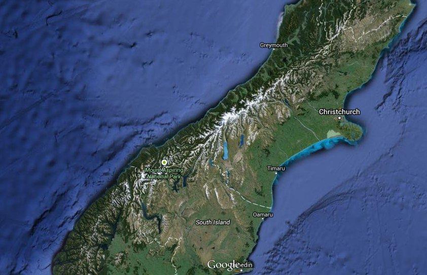 Nouvelle-Zélande: un Australien et deux Allemands probablement morts en montagne