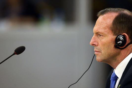 Le premier ministre australien Tony Abbot.