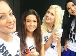 Miss Univers: Miss Israël s'incruste sur un selfie, Miss Liban enrage