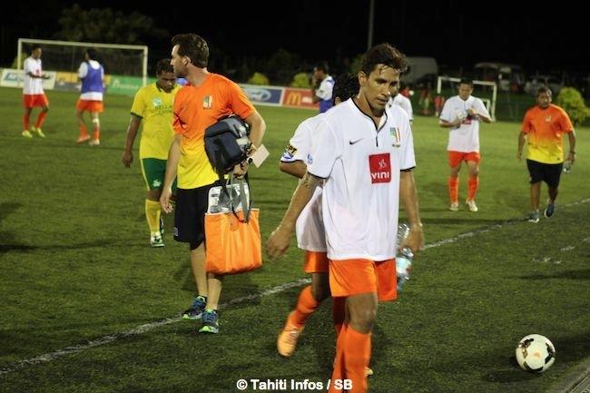 Teva Zaveroni et ses coéquipiers s'inclinent pour la 3ème fois d'affilée contre Tefana