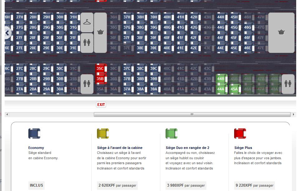 Air France : il faudra payer pour choisir certains sièges