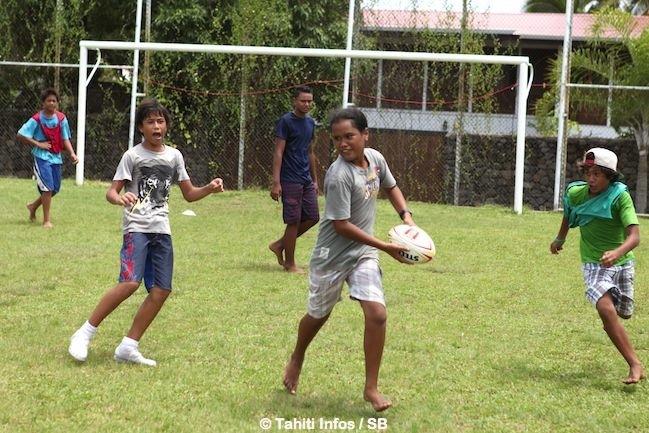 Rugby – Projet social à Pirae : Le rugby pour lutter contre l'oisiveté.