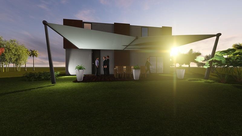 Un exemple de villa VIP proposé par Logistics Solutions sur leur site internet.