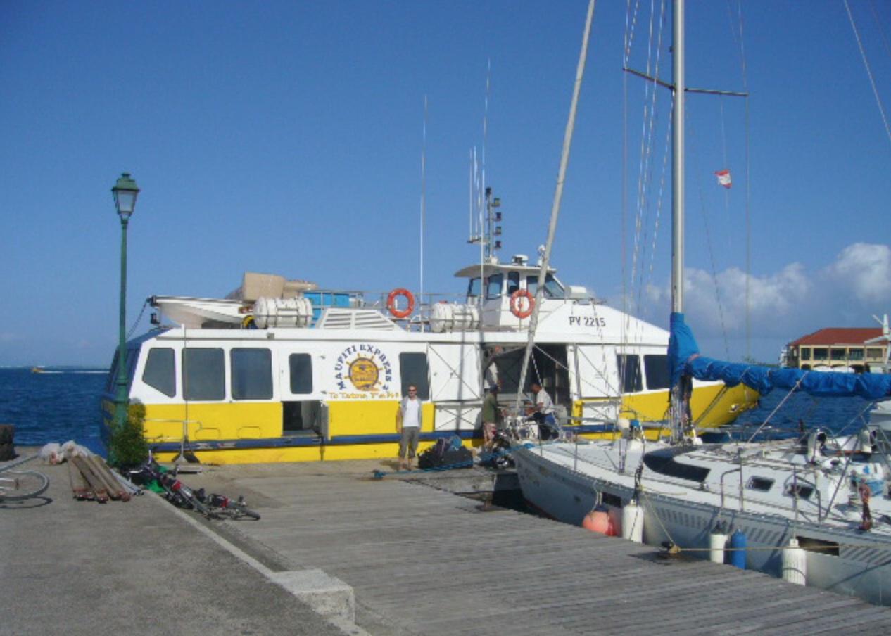 Le Maupiti Express est presque sauvé