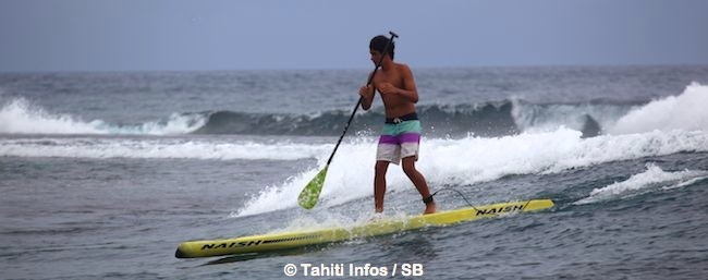 Paddle SUP – Na Kama Kai : La victoire pour Nainoaiki David.