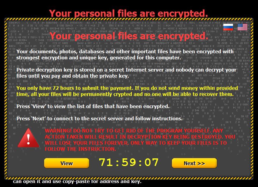 Les entreprises prises en otage par un logiciel malveillant