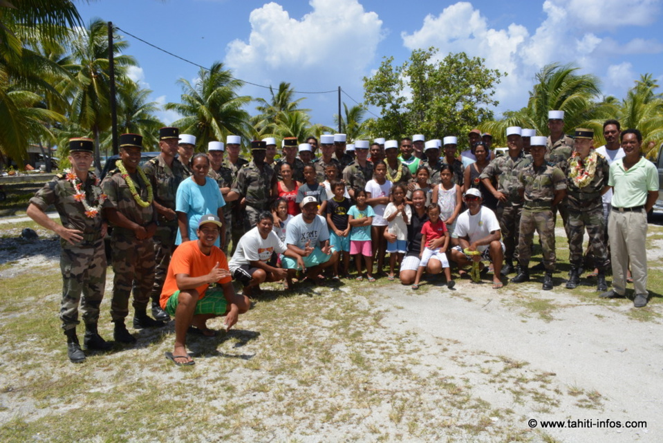 Le RIMAP-P en renfort de la population de Fangatau