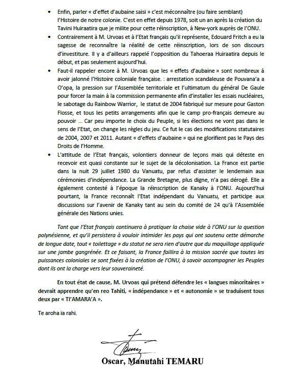 """Communiqué de l'UPLD: """"De Droite ou de Gauche, l'Etat français reste colonial!"""""""