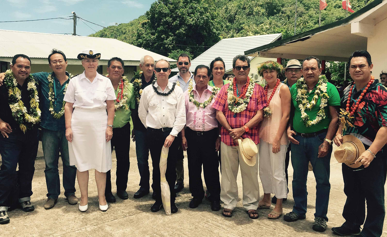 Les participants à la réunion de la CODIM