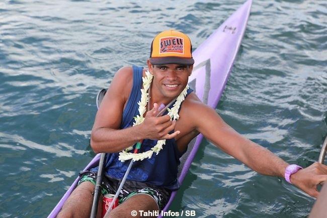 Hiromana Florès, le n°1 du kayak tahitien