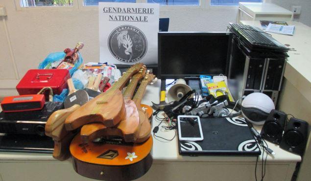 95 % des objets dérobés dans les groupes scolaires ont été retrouvés par les enquêteurs. Ce matériel a été restitué au CJA et à l'école. Quatre majeurs et deux mineurs ont été interpellés et passeront en jugement.