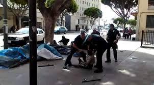Le sans-abri abattu par la police de Los Angeles n'est pas français
