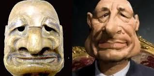 Un musée toulousain expose un ancêtre japonais du Chirac des Guignols