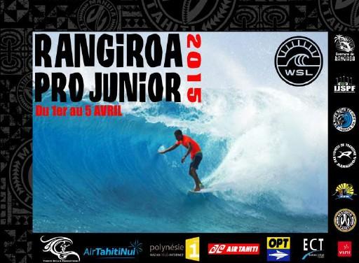6ème édition de la Rangiroa Pro Junior 2015