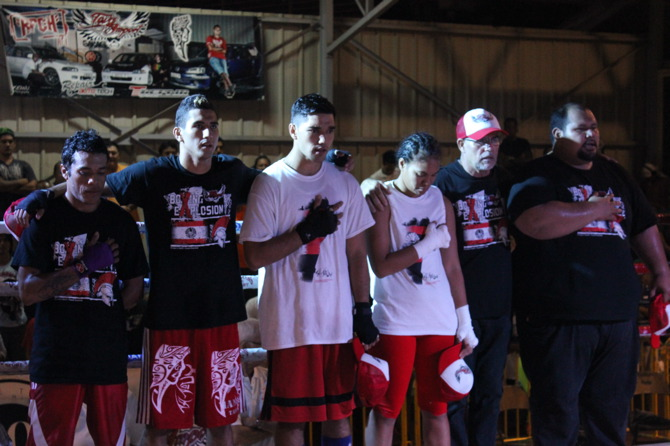 « Boxing Explosion 4 »: Tahiti/NZ, 1 partout !