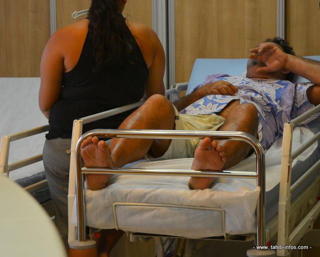 La crise sanitaire pour le chikungunya avait atteint son point culminant en fin d'année à Tahiti avec des passages aux urgences dépassant certains jours 200 personnes au CHPF.