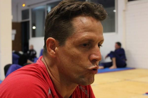 David Proia, le coach, croit au développement de la Lutte en Polynésie