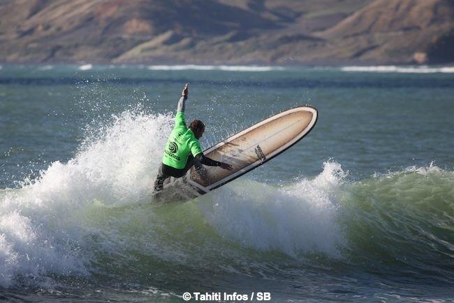 Mark Visser a bien surfé