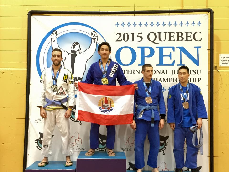 JJB « Open de Quebec 2015″ : Les tahitiens confirment leurs suprématies au Canada
