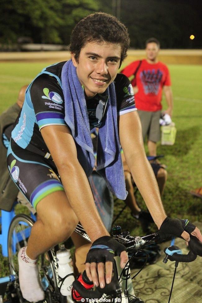 Tuarii Teuira est passionné de vélo.