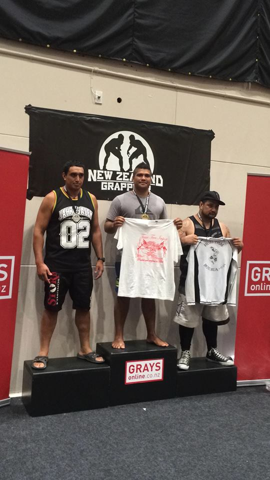 Grappling « New Zealand national no gi 2015″ :  Encore une médaille d'or pour Henri Burns