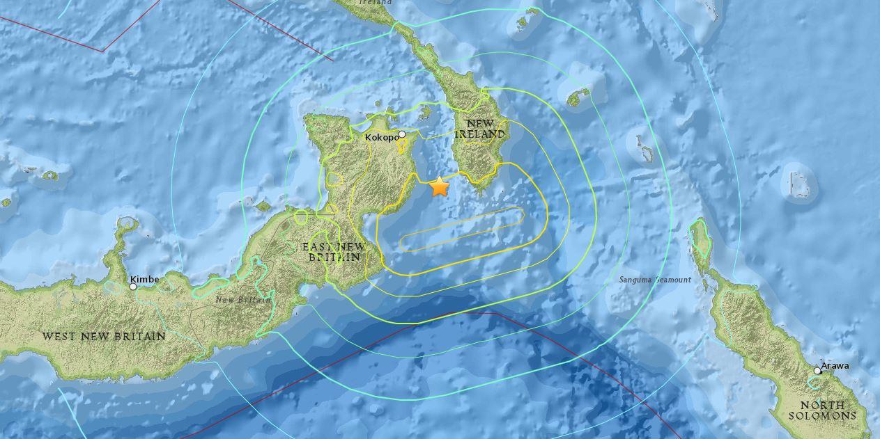 Intense activité sismique dans le Pacifique