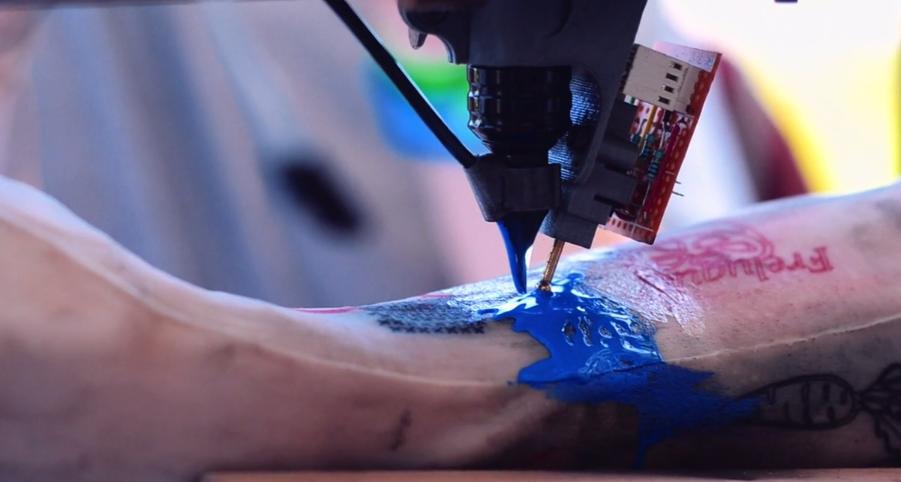 Bientôt tatoué avec une imprimante 3 D ?