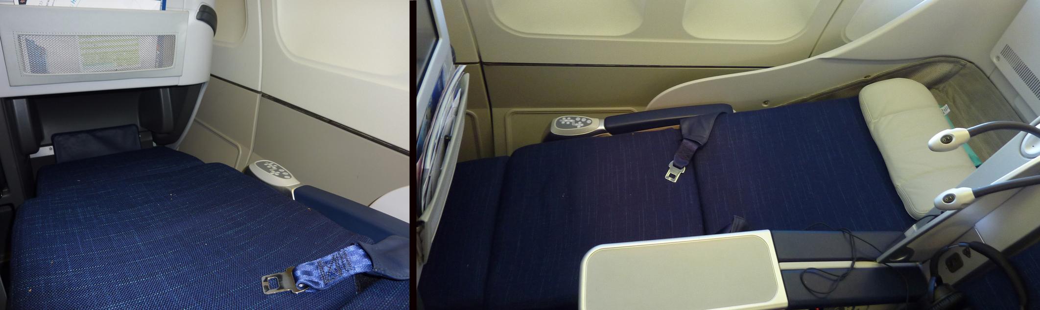 Siège Business Air Calin sur A330