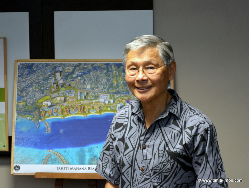 Francis Oda, dirigeant de Group 70