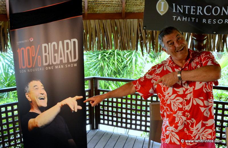 Bigard, humoriste universel