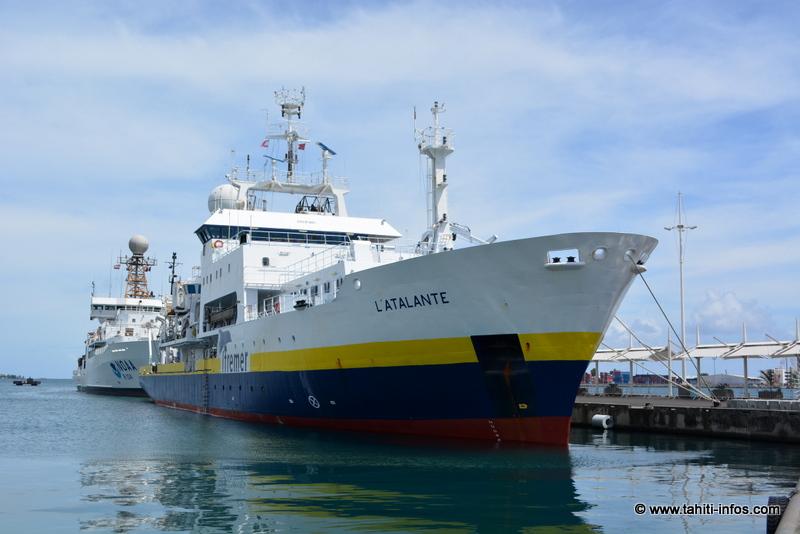 L'Atalante : un navire scientifique pour cartographier le sol de notre océan