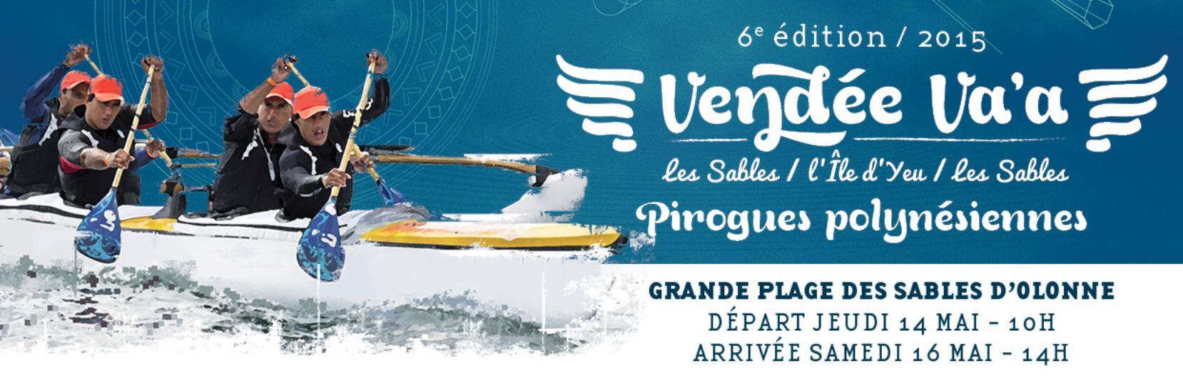 Va'a V6 – La pirogue offerte par ATN est arrivée aux Sables d'Olonne.