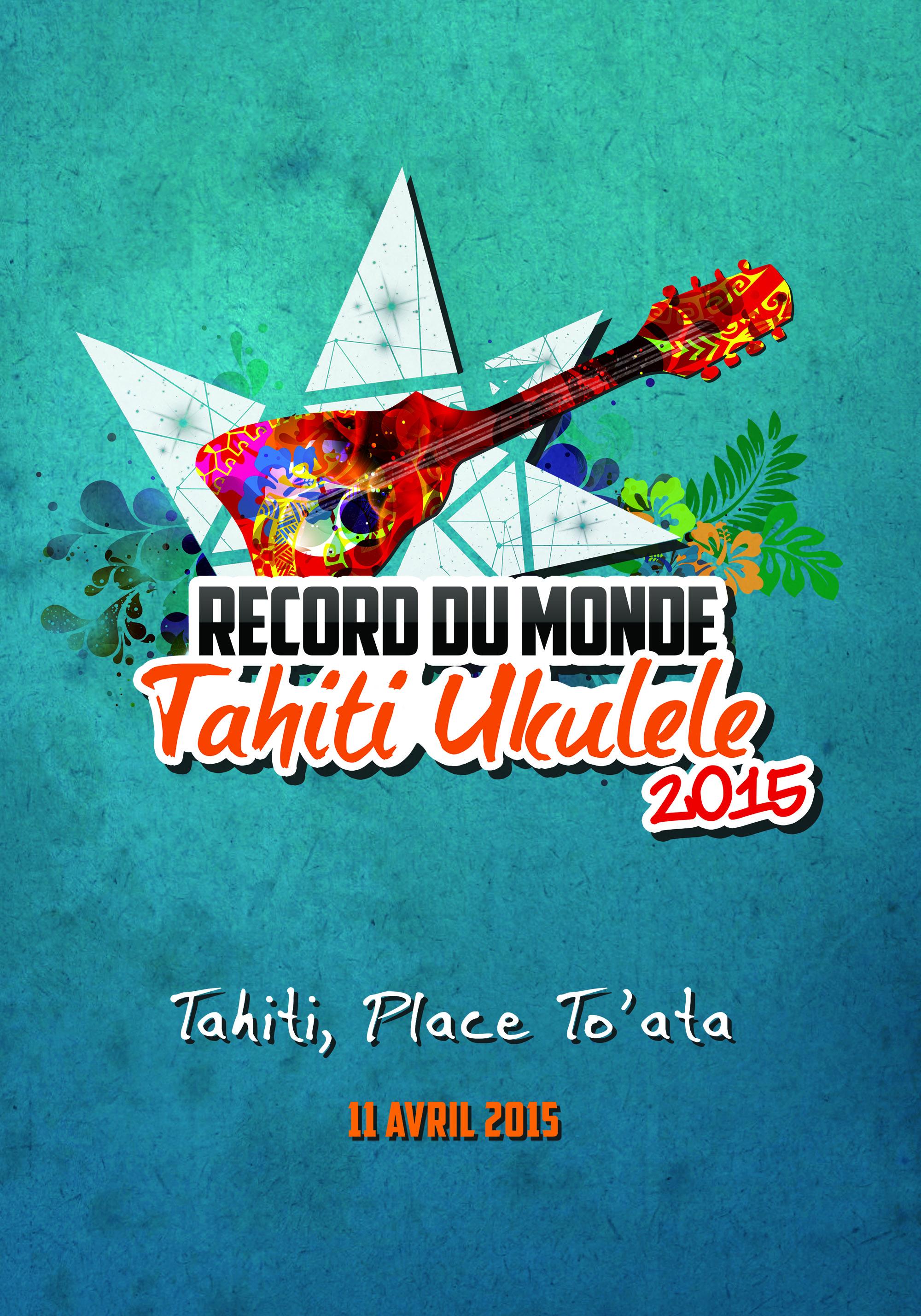 Record du monde de ukulele : To'ata est plein mais la fête continuera à l'extérieur