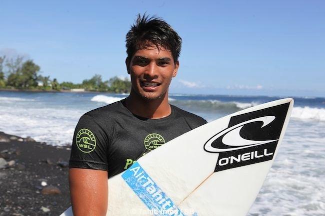 O'Neil Massin est un surfeur à l'avenir prometteur.