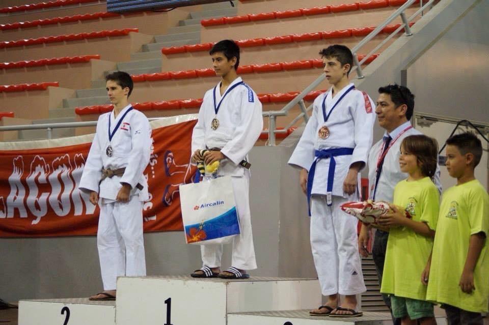 Beaux Resultats de l'équipe de tahiti aux Oceania de judo à Noumea