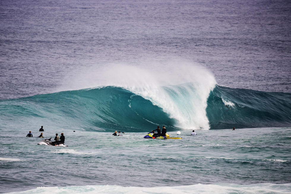 Le slab 'The Box' en Australie © WSL