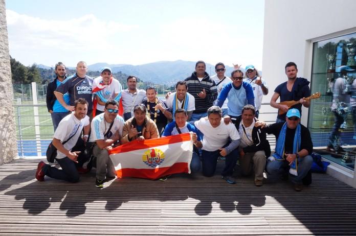 """Le fabuleux voyage en """"Olympie"""" des fans tahitiens de l'OM"""