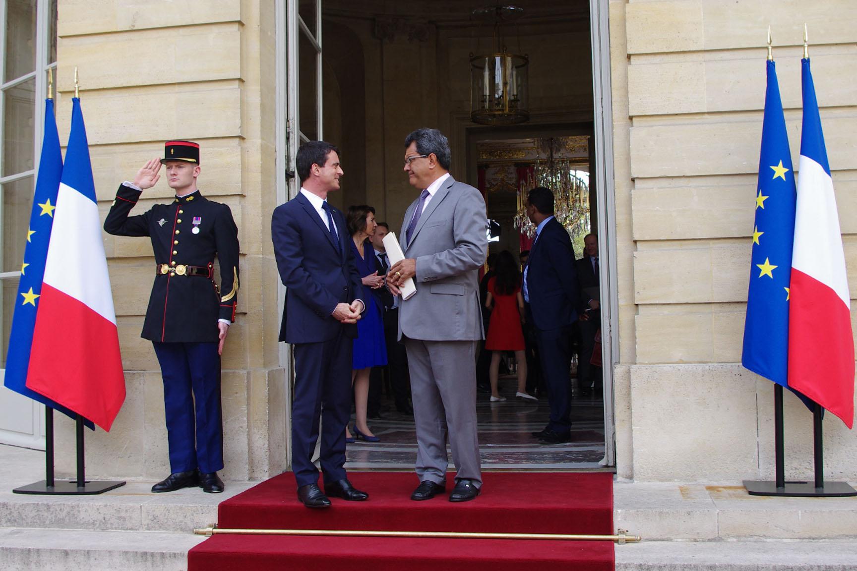 Fritch à Valls : « Vous nous avez compris »