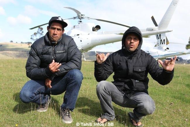 Georges et Manoa à Dunedin à l'extrême sud de la Nouvelle Zélande