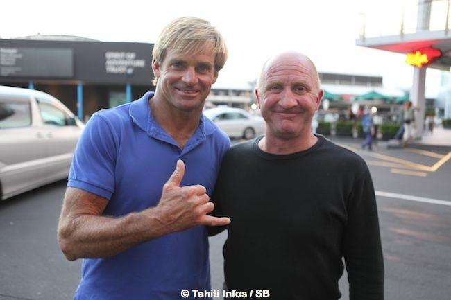 Laird Hamilton et Greg Townsend, deux surfeurs avant tout.