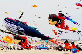 Elvis Presley vole au-dessus de la plage de Berck-sur-Mer