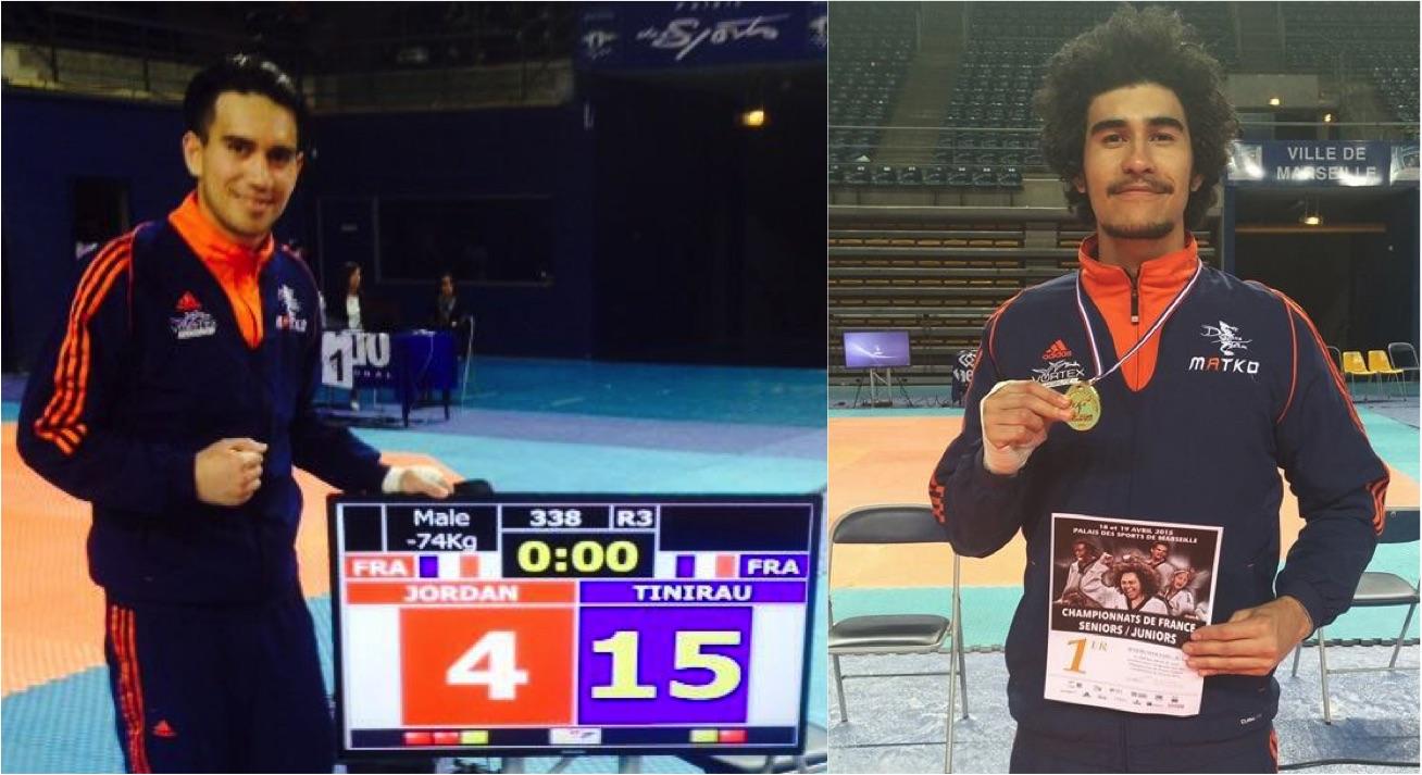 Championnats de France de TaeKwonDo: Remuela Tinirau et Waldeck Defaix en Or, Anne-Caroline Graffe et Hina Joly en argent