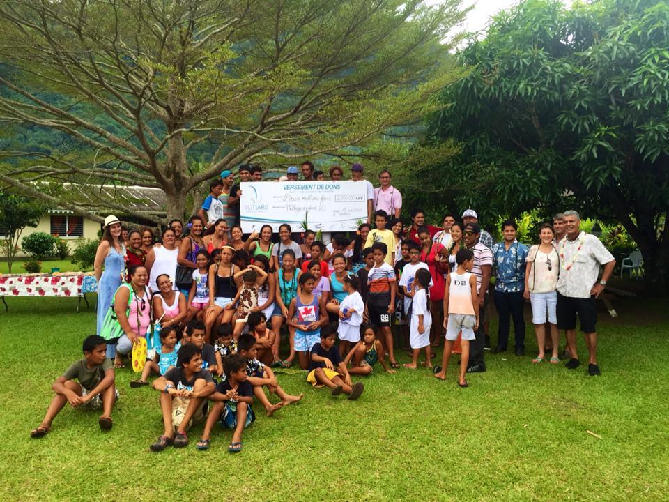 Deux millions pour SOS Village d'enfants