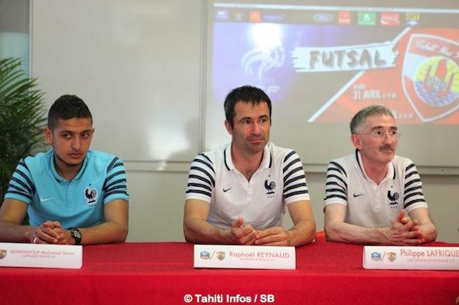 Futsal – Tahiti vs France : Deux matchs amicaux programmés cette semaine.