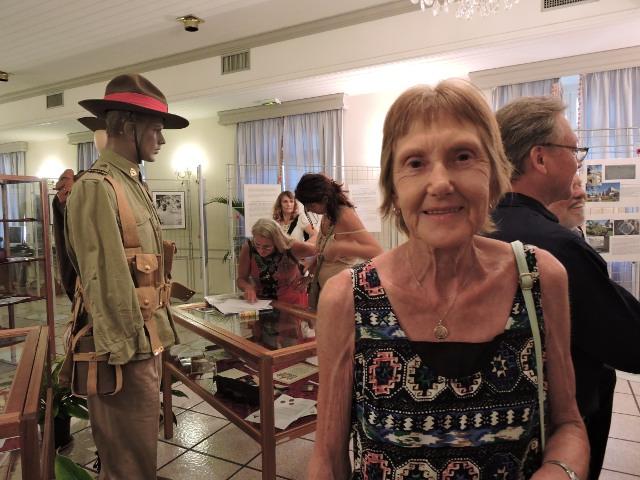 Colleen Van Hees, petite nièce de Robert William Fuhrstom, est venue avec son mari Martin. Ils se recueilleront samedi sur la tombe de leur grand oncle.