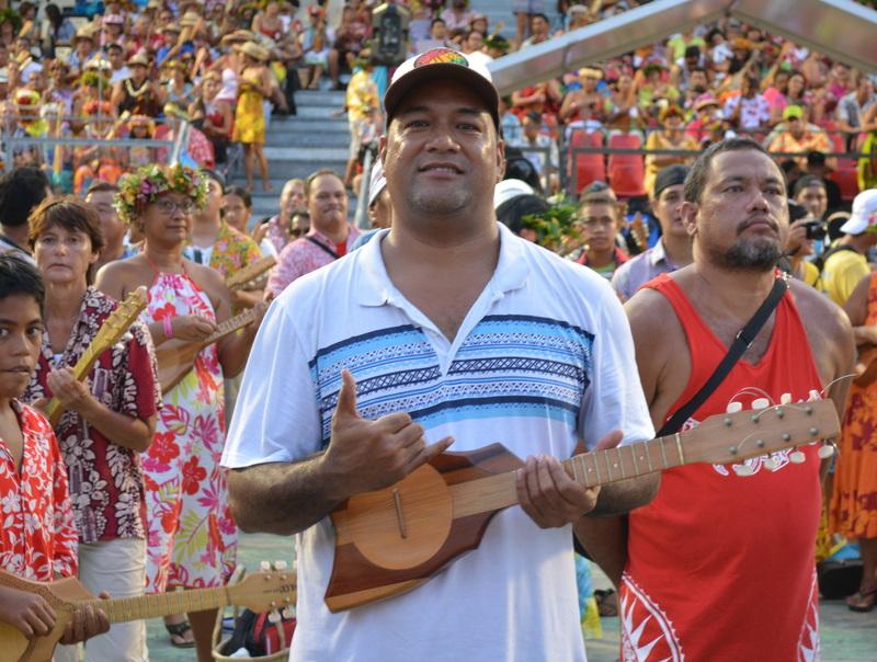 Ukulele : le Guinness book valide le record du monde des Tahitiens