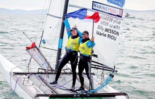 Voile : Billy Besson et Marie Riou remportent la coupe du monde de voile