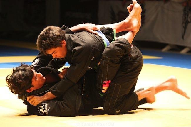 Toiki Cugnet a réalisé un bon combat contre Matuanui Philippe, une des 'stars' de la TTT